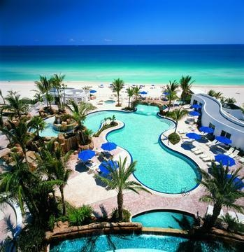 Trump Miami - Santa brought us sun and sand, Christmas 2011--AMAZING :)