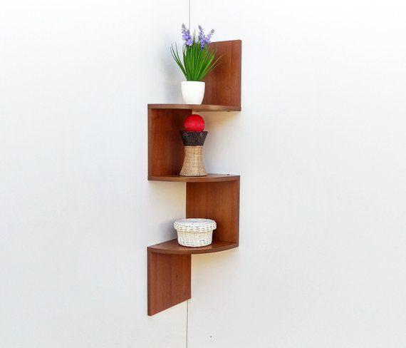Modern Corner Shelf Up 3 2 Shelves Shelf Wall Shelves Corner