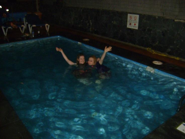 Impromptu swim at 4am - Lanza June 2010