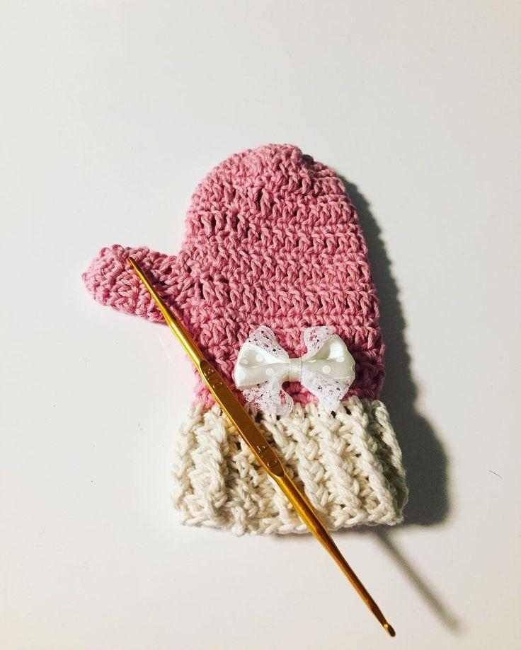 あったか可愛い♡かぎ針編みで編むミトンでこの冬は誰よりおしゃれに♡   Handful