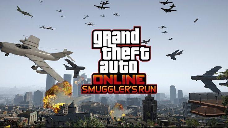 Smuggler's Run free roam impression #GrandTheftAutoV #GTAV #GTA5 #GrandTheftAuto #GTA #GTAOnline #GrandTheftAuto5 #PS4 #games