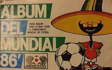 ALBUM FIXTURE WORLD CUP MEXICO 86 FROM ARGENTINA