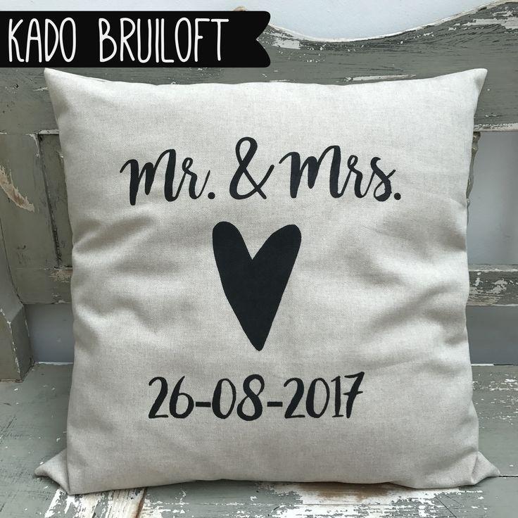 Kado bruiloft / cadeau jubileum ❤️ een mooi, persoonlijk & uniek kado voor het bruidspaar. www.just-m.nl