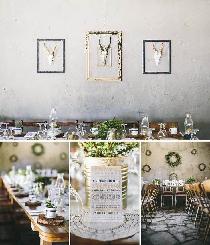 Jacque from Jox.Dsgn outdid himself with the reception decor with an awesome mix of contemporary and antique styling. #Nieu-Bethesda #Wedding #Jacque #Jox.Dsgn #CharlieRay #Sarah #Tom #Reception #Decor