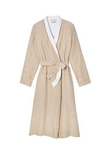 Women's Organic Linen Terry Robe Coyuchi
