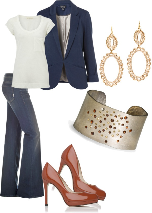 """Classic"" by thecrimsoncharm on Polyvore"