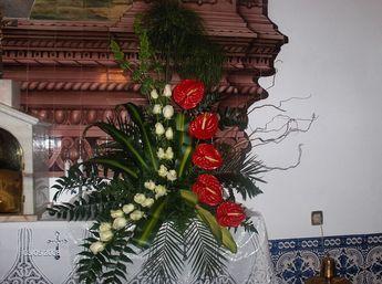 Floristas, arranjos de flores, flores, musica