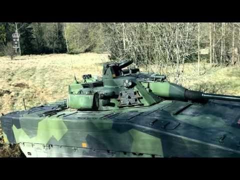 Vagnchef stridsfordon 90 - YouTube