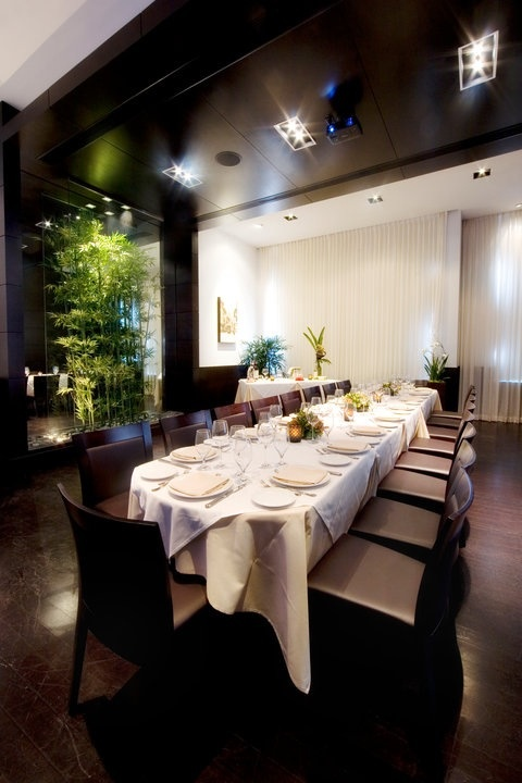 Milano private dining room.