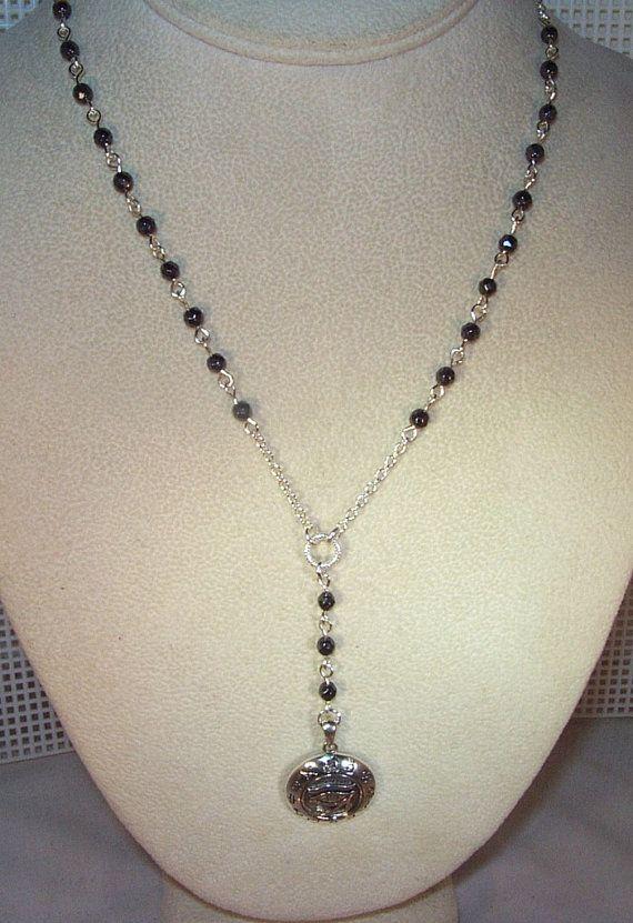 Yolanda Foster Rosary Bead Necklace | Personal Blog