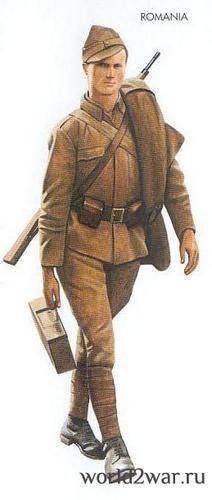Romanian soldier Viena 1945 - pin by Paolo Marzioli