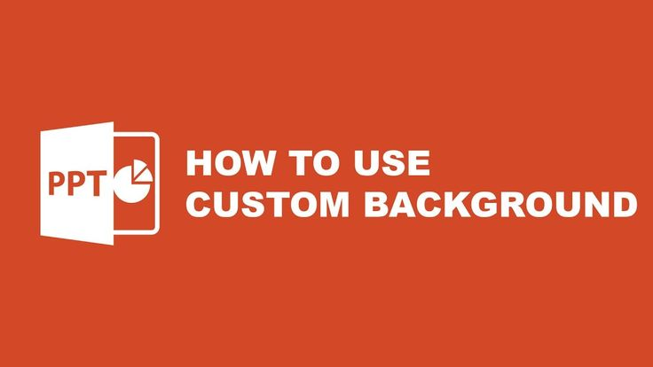 Tutorial Powerpoint Template : How to Use Custom Background on Powerpoint