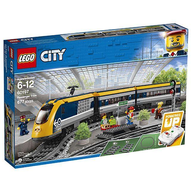 LEGO 60051 CITY Hochgeschwindigkeitszug High Speed Passenger Train Power Functio