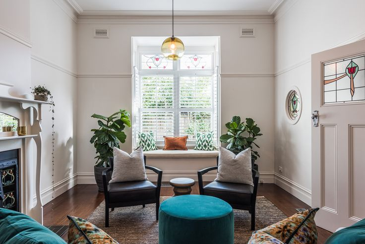 Sandringham Renovation - Living :: Designed by Eat Bathe Live
