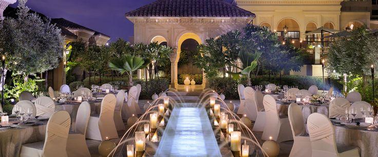 Luxurious weddings by One The Palm Resort & Beach Hotel in Dubai