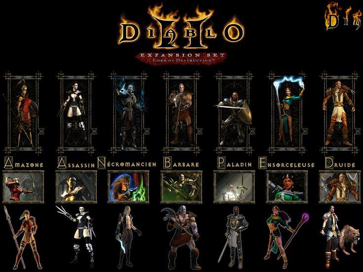 Diablo II Character classes. I I have always preferred the ...