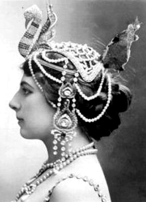 Mata Hari Head dress