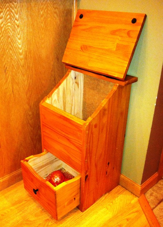 Wooden Potato And Onion Storage Bin By StockwellCreek On Etsy