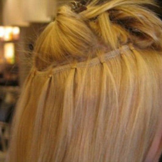 Best 25 glue in extensions ideas on pinterest diy hair micro weft hair extensions in nycst method no pmusecretfo Gallery