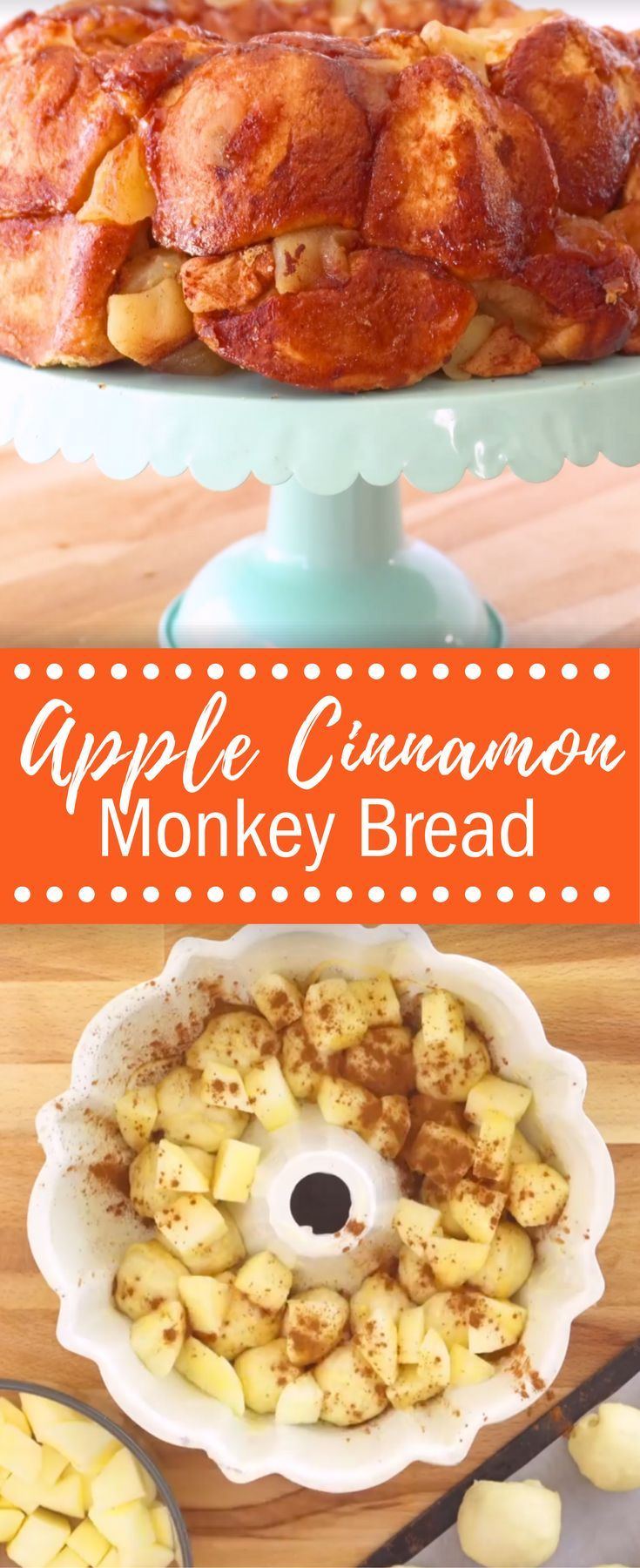 What could be more fun than a pull-apart bread loaded with apples and fragrant honey? Check out our delicious Apple Cinnamon Challah Monkey Bread!