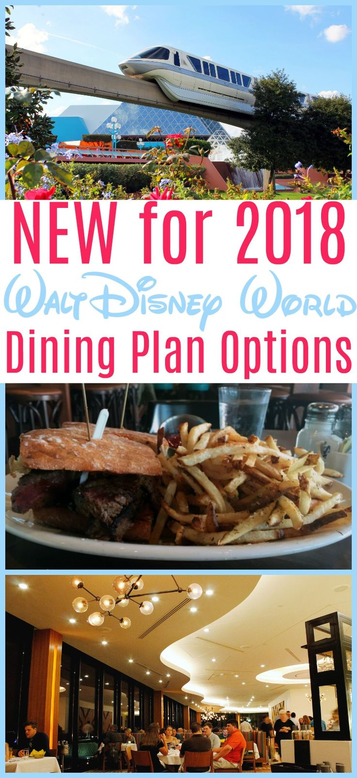 Disney just released their new options for the Disney Dining Plan! We break down what you need to know and how it will affect your vacation planning. Disney Dining Plans can help you efficiently navigate your Walt Disney World vacation.