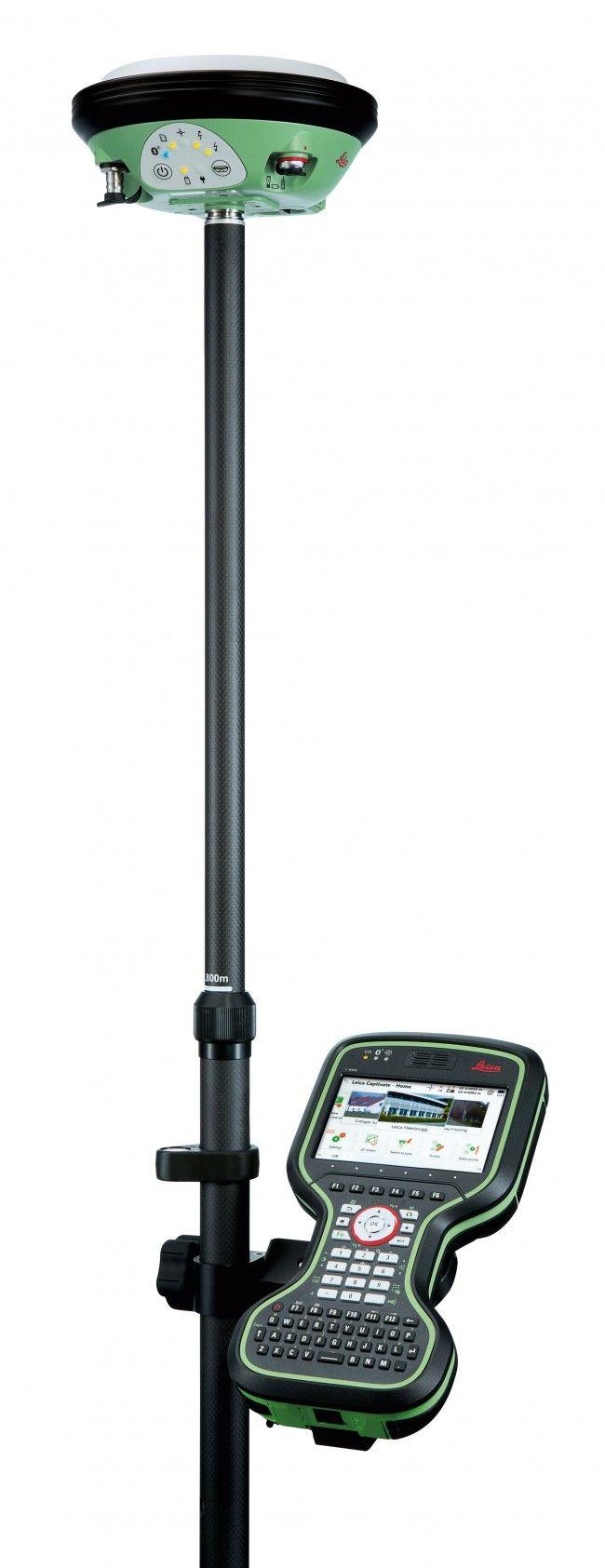 Alquiler y venta de equipos GNSS Leica Geosystems. Antena Leica Viva GS14 para alquiler y Leica. Configuración GPRS y Fijo Móvil.