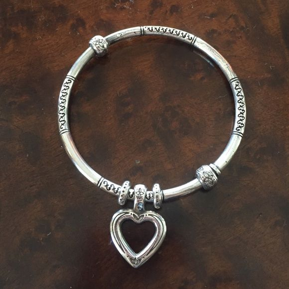 Brighton Bracelet This single Brighton bracelet is adorable. The heart charm goes perfect with any outfit! Brighton Jewelry Bracelets