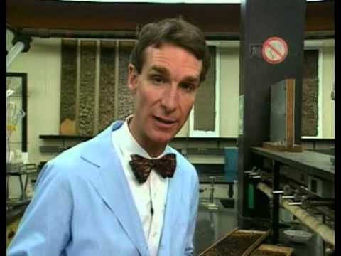 Bill Nye The Science Guy - Rocks & Soil - YouTube - 23:04-minute video where Nye explains how volcanoes, rivers, landslides and more affect rocks and soil