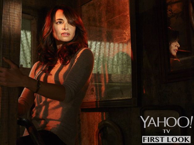 The Strain on FX: Mia Maestro stars as Dr. Nora Martinez.