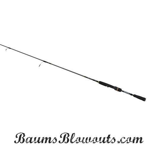 "Tatula Bass Drop Shot Fibesse Spinning Rod 6'3"" Length, 1 Pece Rod, Medium/Light Power, Extra Fast Action"