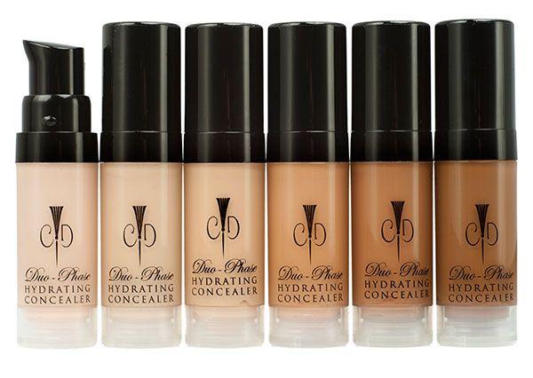Christopher Drummond Beauty Natural, Organic Vegan Beauty Products Remove Dark Under Eye Circles - Best Organic, Vegan Makeup Concealer