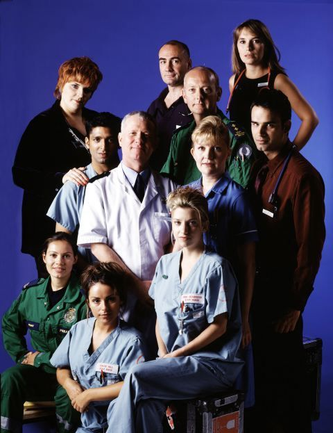 The cast in 1999
