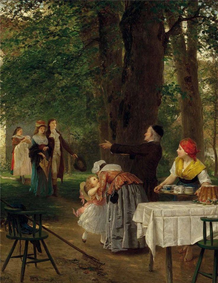 Genremalerei berühmt  10 best Wilhelm Amberg images on Pinterest | Painting art, 19th ...