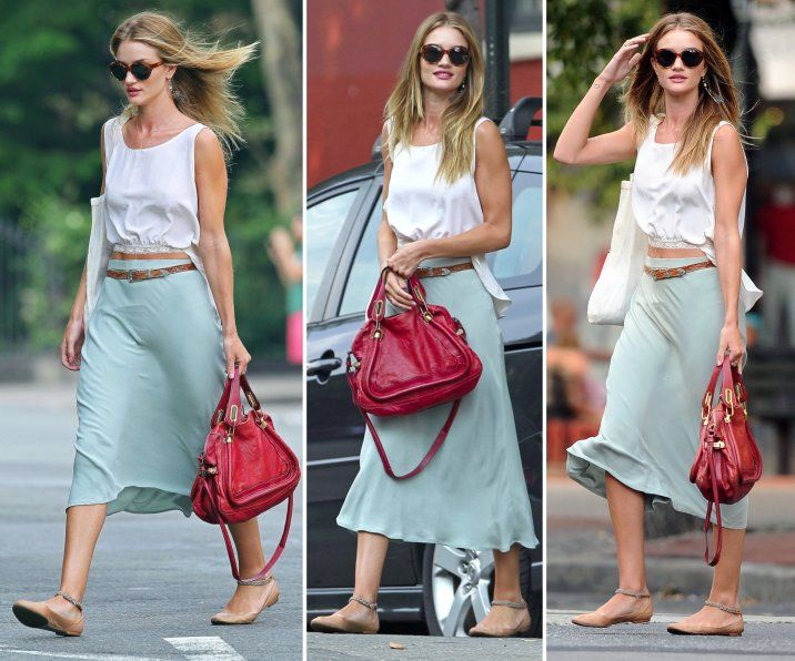Celebrity fashion casual dresses