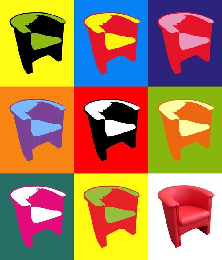 K dnešnímu výročí úmrtí jednoho z nejvýznamnějších představitelů pop artu, jsme z křesla Nataša vytvořili reprodukci jednoho z jeho nejznámějších děl. Dále se proslavil sérií reklamních plakátů pro značku Campbell a portréty Marilyn Monroe. Už víte, o kterého umělce se jedná?