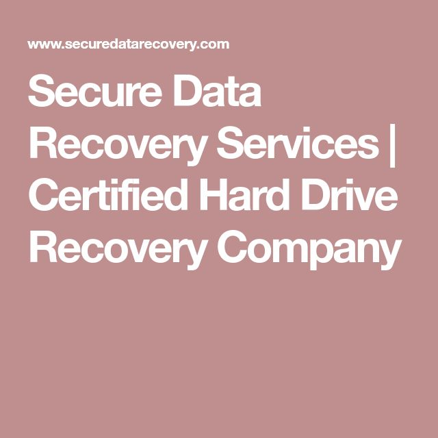 who requires data recovery glasgow service