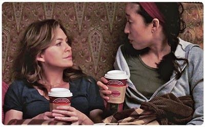 Ellen Pompeo Leaving Grey's Anatomy | Ellen Pompeo and Sandra Oh in Grey's Anatomy: