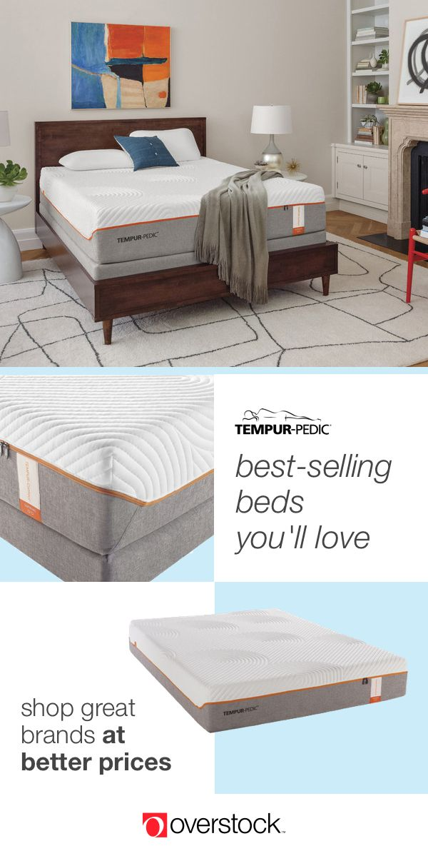 TEMPUR-Contour Supreme 11.5-inch Split Queen-size Memory Foam Mattress Set - Find the perfect mattress at Overstock.com. Plus, enjoy free shipping on all orders over $45 and hassle-free returns. Overstock.com -- All things home. All for less.
