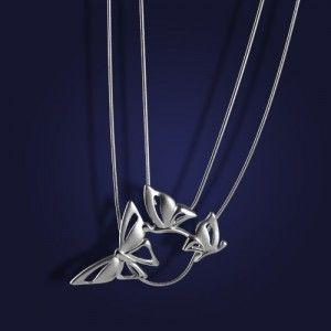 AnKa Biżuteria sklep: Naszyjnik  srebrny rodowany