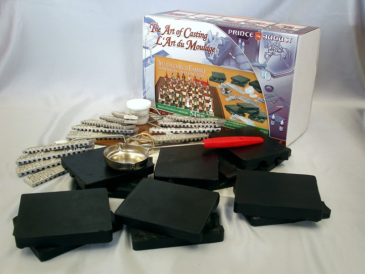 Prince August  - PA12702: Battle of Waterloo Deluxe Chess Starter Kit, €199.00 (inc VAT) €161.79 (exc VAT) (http://shop.princeaugust.ie/casting-starter-kits/deluxe-starter-kits/pa12702-battle-of-waterloo-deluxe-chess-starter-kit/)