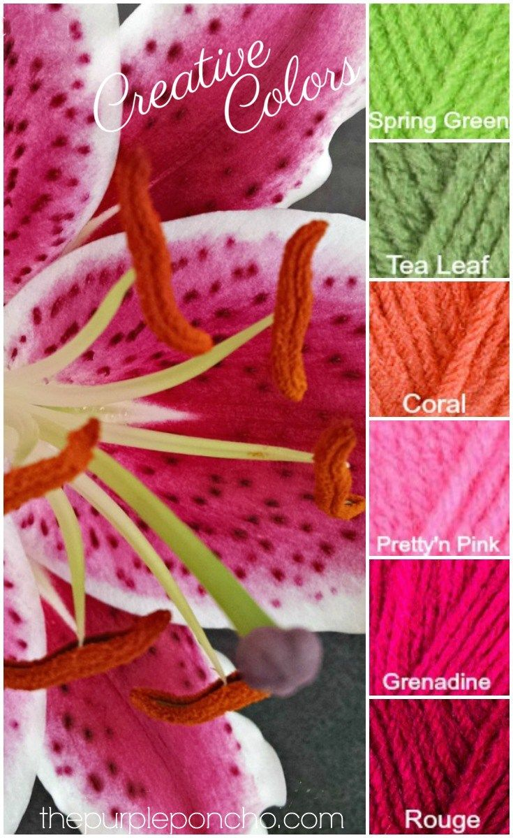 Creative Colors – Pink Lily Palette! – The Purple Poncho