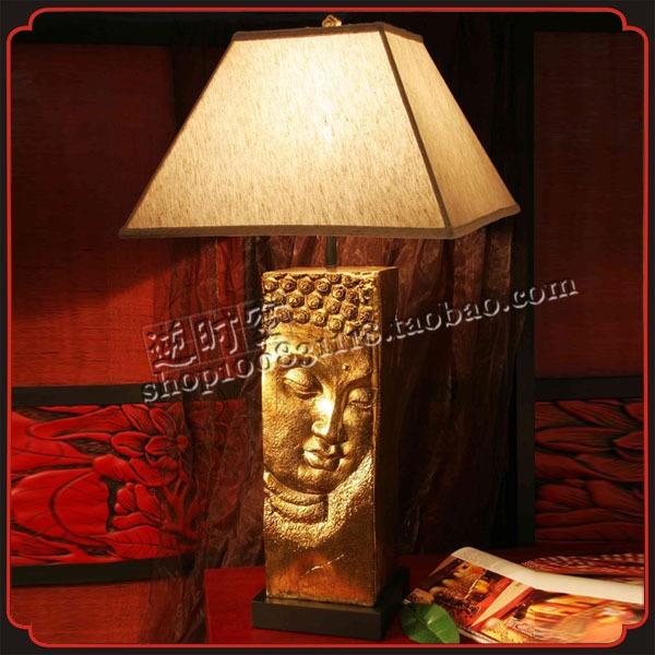 Новый китайский / античный / Аксессуары для дома / смола ремесла / моды творческие / спальня лампа / прикроватные декоративные светильники - Taobao