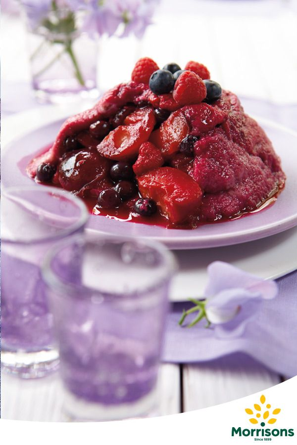 Give this traditional British treat a try using tasty berries. The perfect recipe to look forward to this Blue Monday