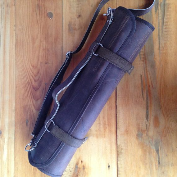 Chef's Leather Knife Roll Oil Tanned Hide by HaversackLeather
