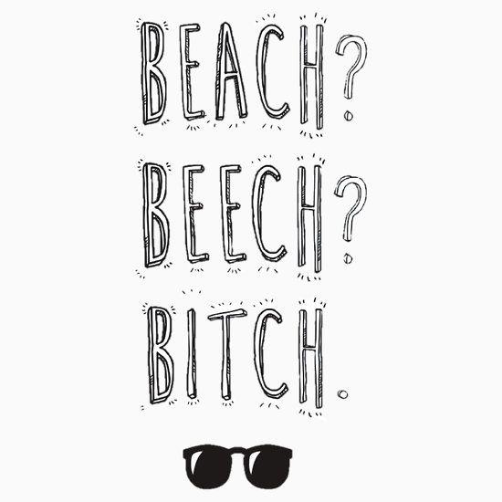 "BTS Bangtan Taehyung Jimin  ""Beach? Beech? B*tch."" Milky Design"