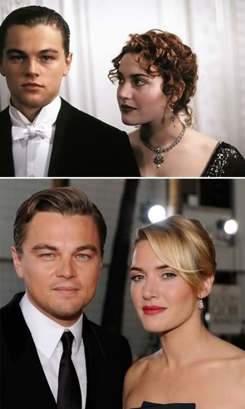 Kate Winslet and Leonardo DiCaprio, seriously why are they not together?! @Elizabeth Lockhart Lockhart Cronin see, here's an example of old Leo < young Leo