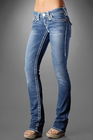 True religion jeans - by far the best fitting jean out there!  When you wear these you cannot help but feel amazing!!!