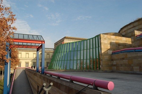 Architecture Exhibition: James Frazer Stirling at the Tate Britain ...