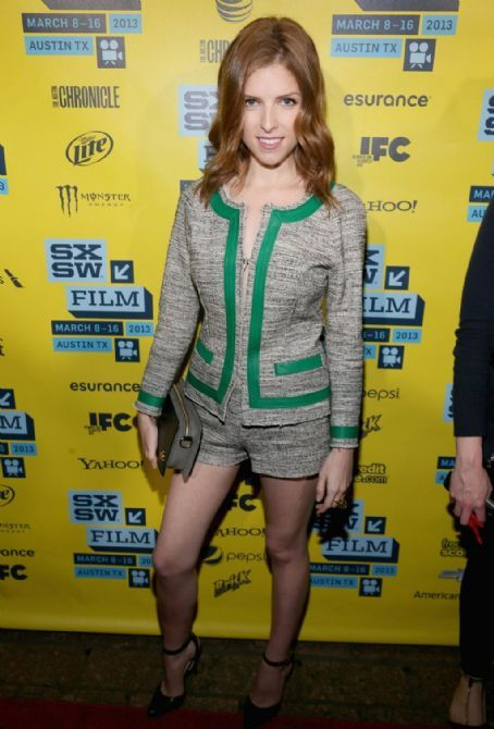Anna Kendrick: at Drinking Buddies screening during 2013 SXSW Film Festival in Austin