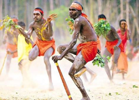 The Aborigines had lived in Australia long before people found out that it actually existed. They found in a quarry near Penrith, New South Wales, in 1971 Stone Tools which proves people lived their at least twelve thousand years before they appeared in Europe.